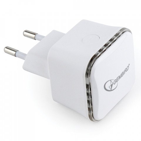 draadloze WiFi repeater 300Mbps wit - WNP-RP300-01