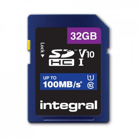 Secure Digital kaart 32GB SDHC - V10