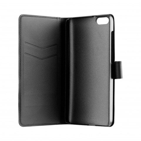 XQISIT Slim Wallet for Honor 4x black