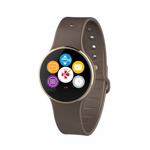 MyKronoz ZeCircle2 Activity Tracker brown
