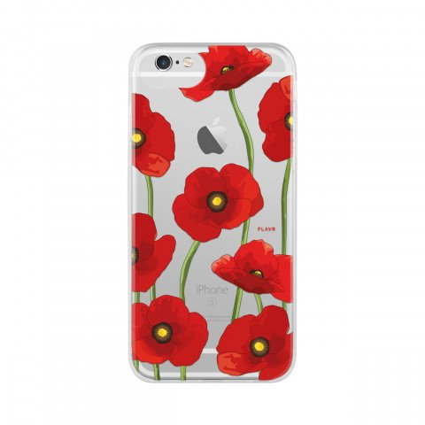 FLAVR iPlate Poppy for iPhone 6/6S/7/8 colourful