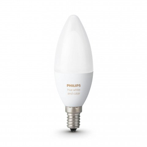 Philips Hue White and Color Ambiance LED E14 6,5W white