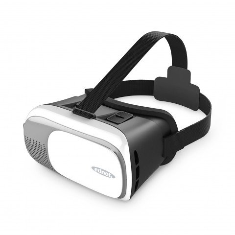 ednet. Virtual Reality (VR) Brille/headset 3D black