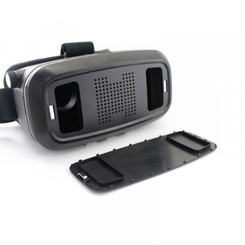 ednet. Virtual Reality Glasses Pro black