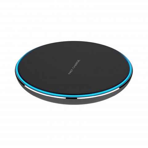 XQISIT Wireless Fast Charger 10W black