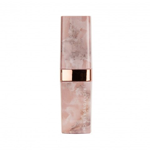 Richmond & Finch Lipstick Powerbank - Pink Marble pink