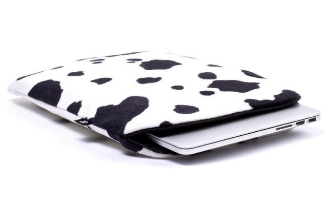 CoverBee Sleeve MacBook Air 11 inch Lazy Cow
