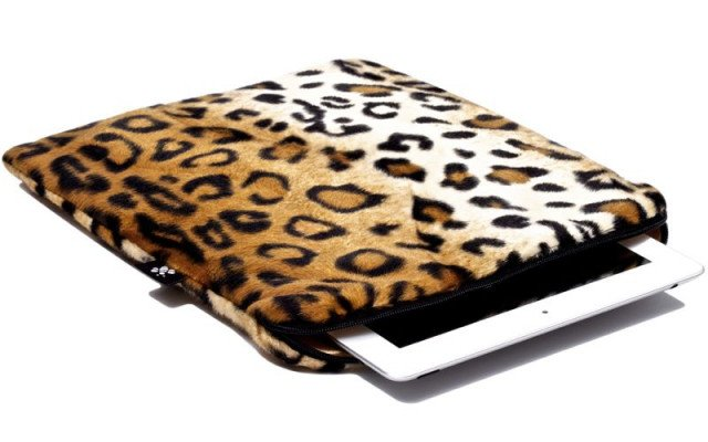 CoverBee iPad Sleeve Posh Leopard