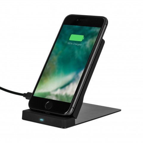 XQISIT Wireless Stand Charger 10W EU black