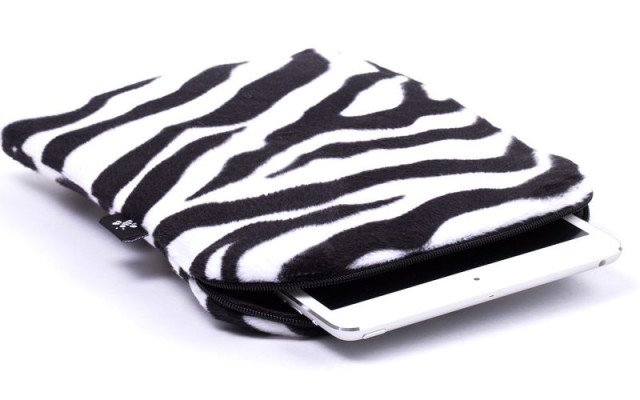 CoverBee iPad Mini Sleeve Zebra Mania