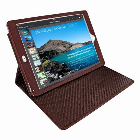 Piel Frama Cinema iPad Pro 9.7 Croco Brown
