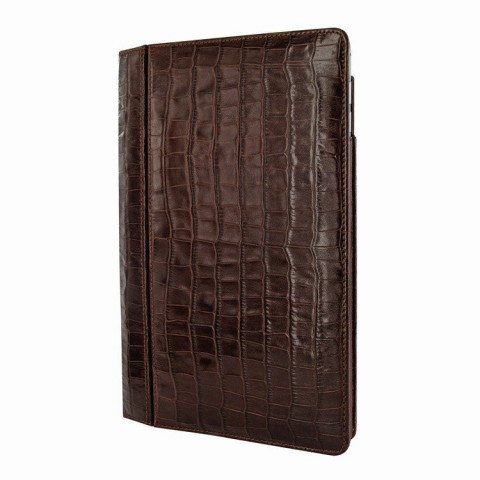 "Piel Frama Folio iPad 9.7"" 2017 / Air 2 Croco Brown"
