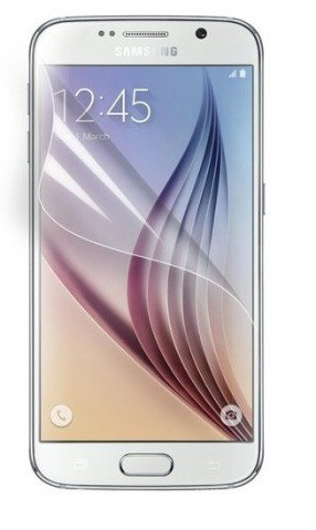 Colorfone Galaxy S6 screenprotector Clear