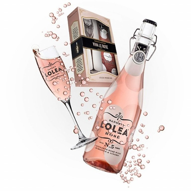 LOLEA Rose No.5 + Glas