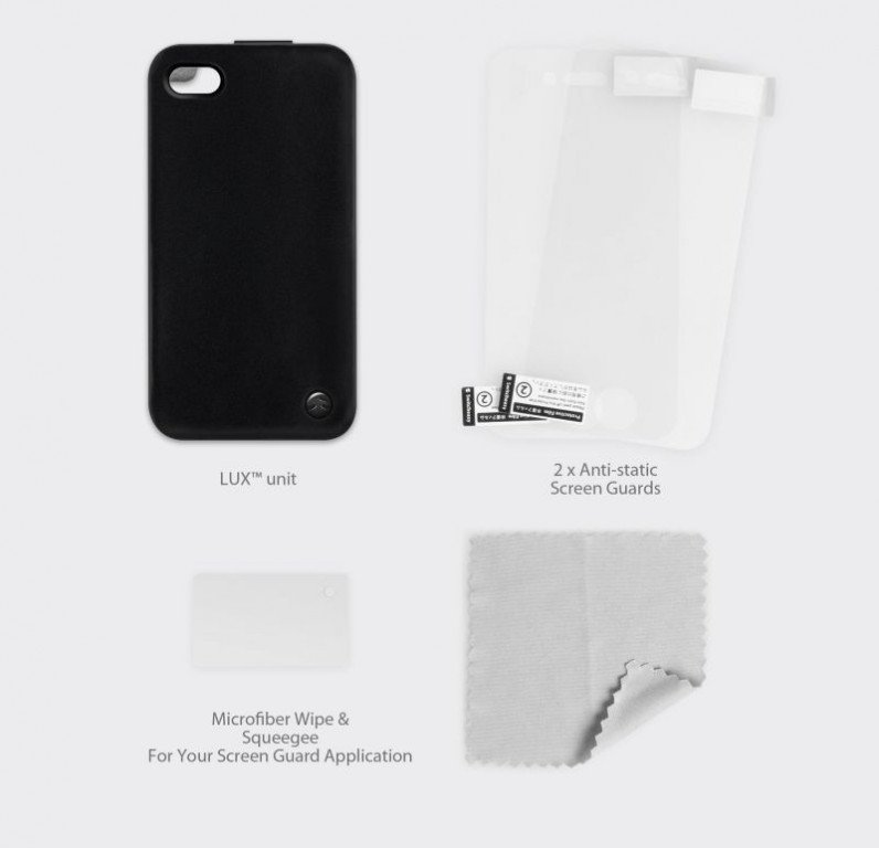 SwitchEasy LUX iPhone 4/4S Accessoires