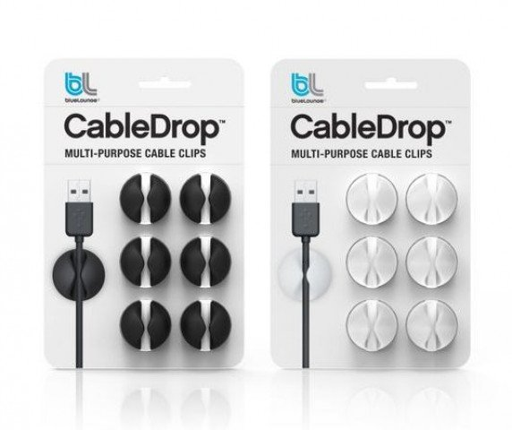 Bluelounge CableDrop White