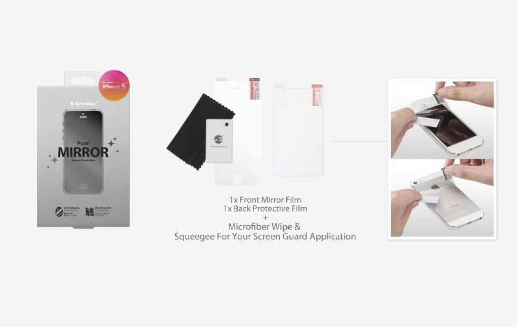 SwitchEasy Pure iPhone 5/5S/5C / SE Mirror Package