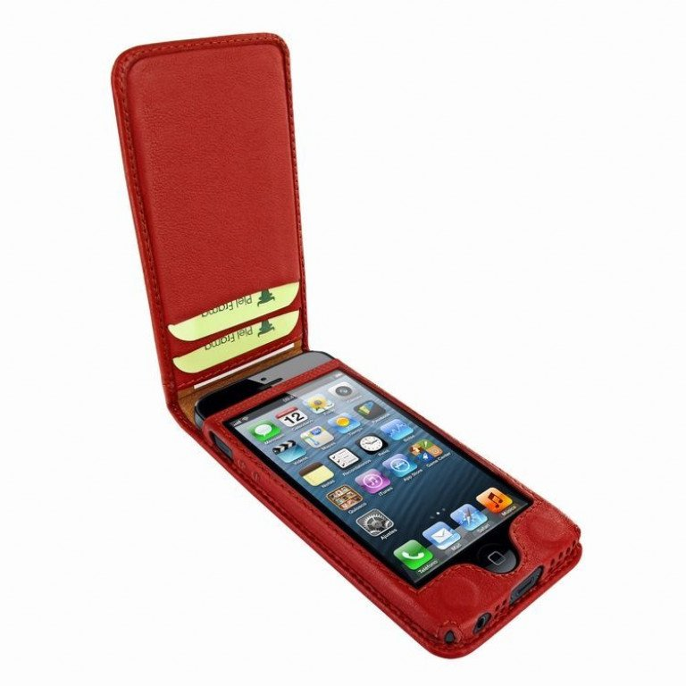 Piel Frama iPhone 5/5S / SE Magnetic Red