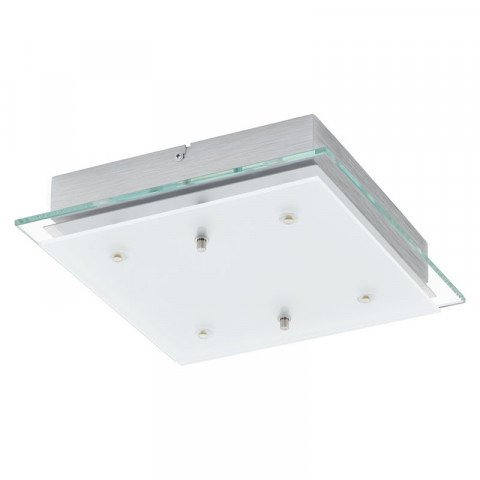 Fres 2 wand- of plafondlamp LED vierkant 290 mm breed