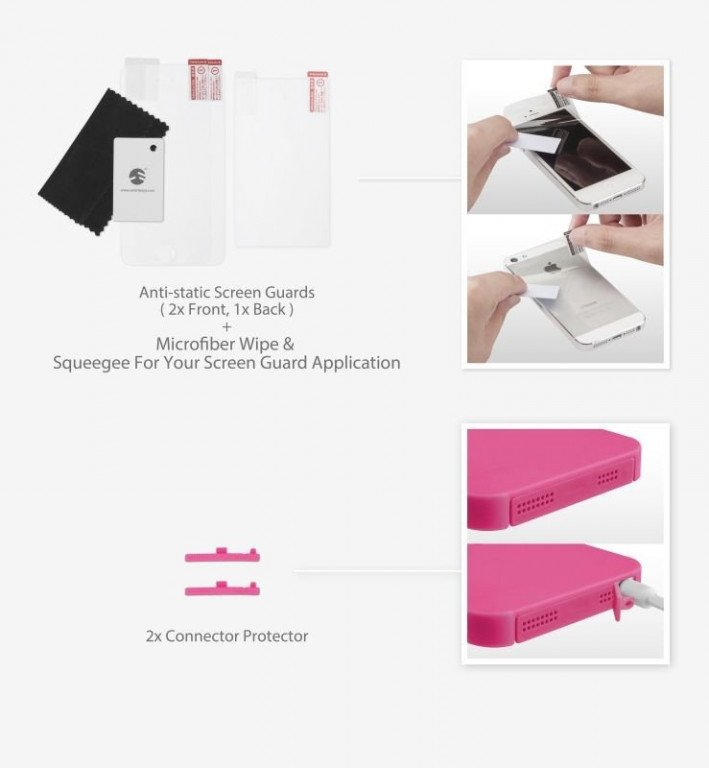SwitchEasy Kirigami iPhone 5/5S / SE Package