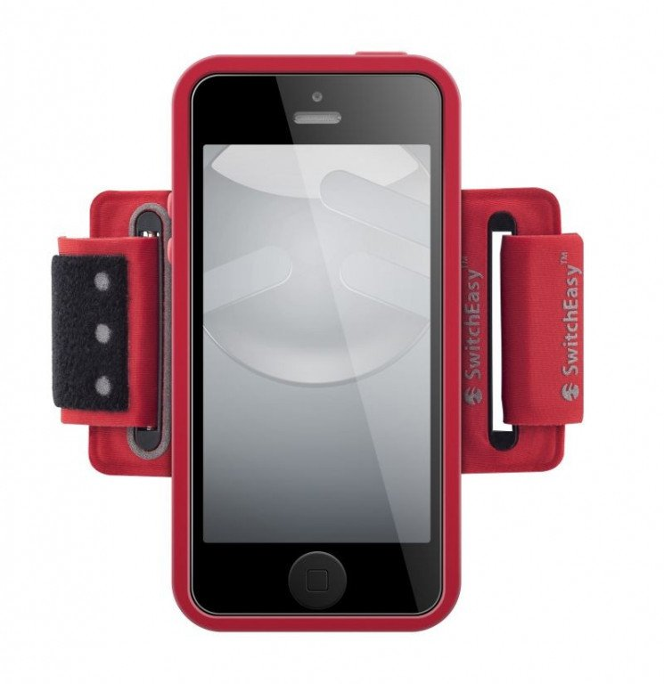 SwitchEasy Move Sport Armband iPhone 5/5S / SE Red