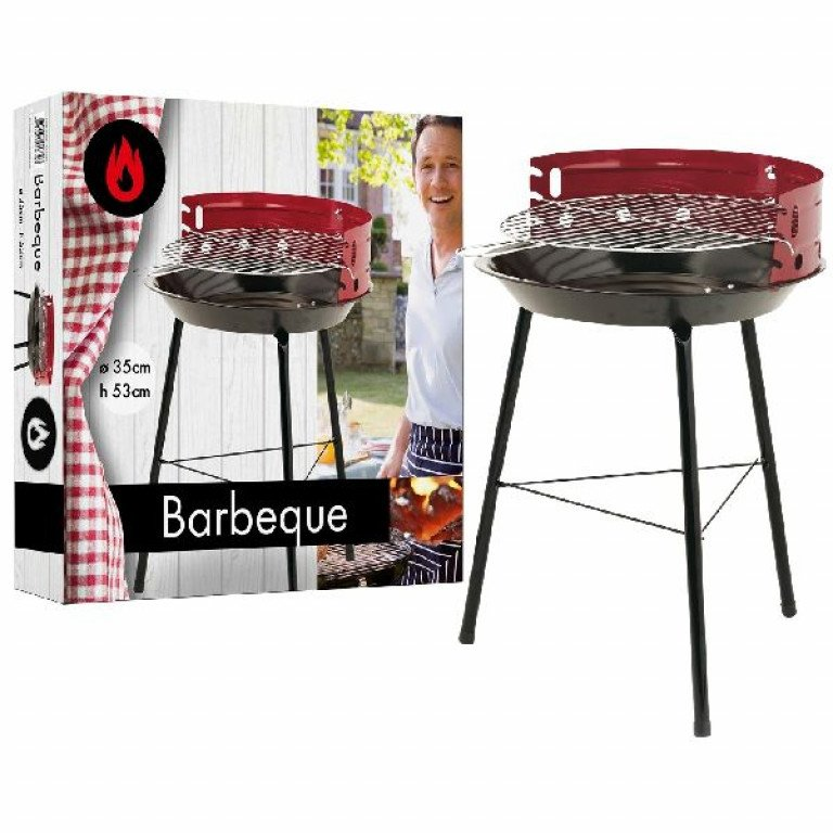 Bbq Barbecue 3-poot D 35cm