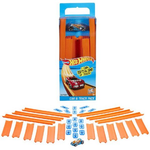 Hot Wheels Track Builder+auto