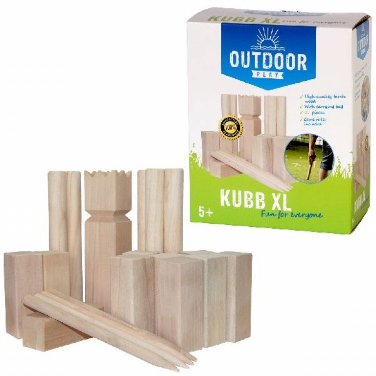 Outdoor Play Kubb Game XL