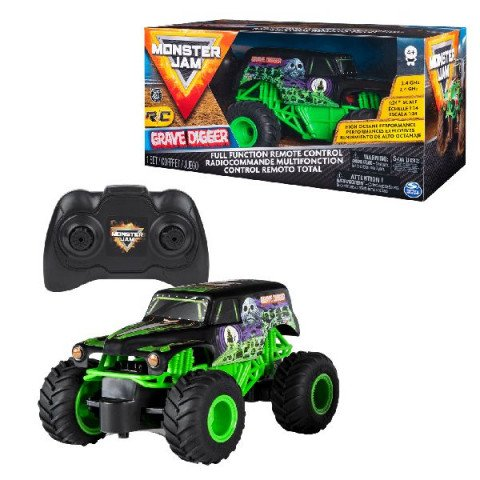 Monster Jam 1:24 Gravedigger RC