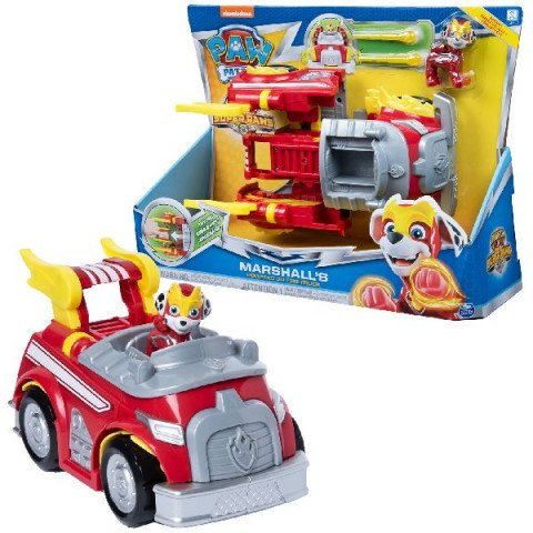 Paw Patrol Mighty Pups Changing Vehicle Marshall