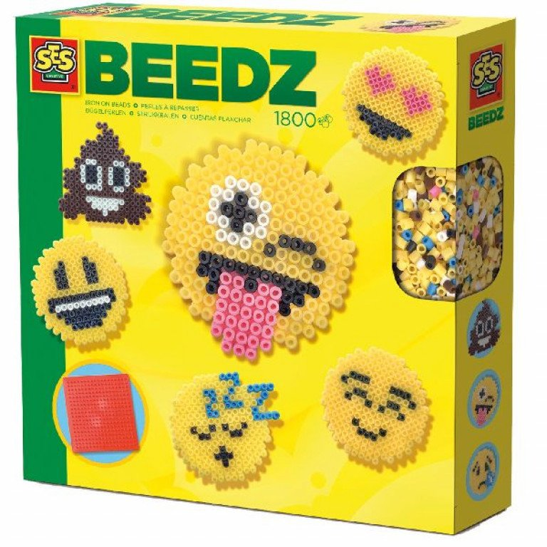 Ses 06231 Beedz strijk emoticons