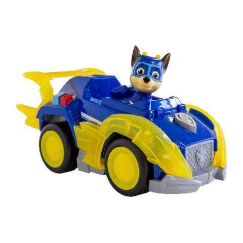 Paw Patrol Mighty Pups Themed Vehicle Chase