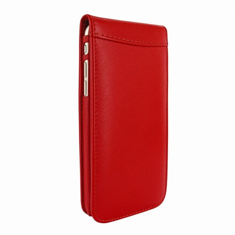 Piel Frama iPhone 6 Classic Magnetic Red