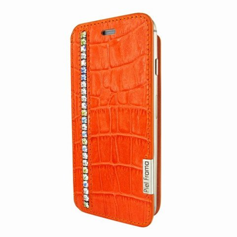 Piel Frama iPhone 6/6S Plus FramaSlim Swarovski Orange