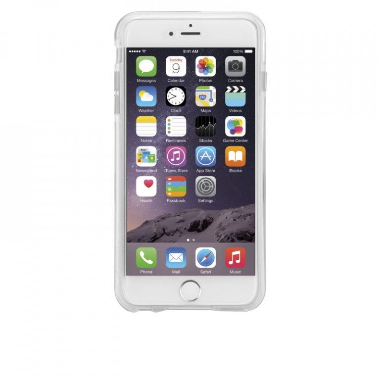 Case Mate iPhone 6/6S Plus Naked Tough Case Clear/Clear