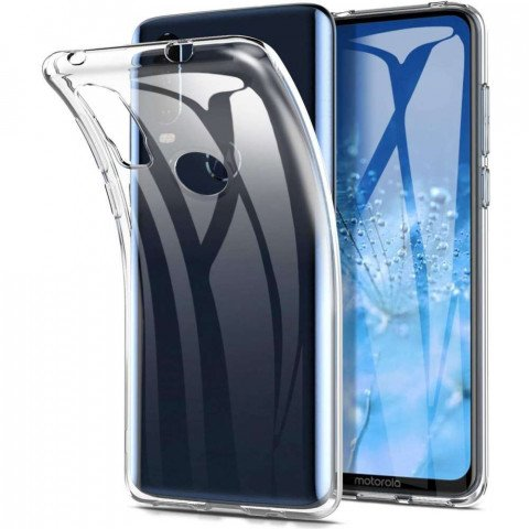 Just in Case Motorola One Action Soft TPU case (Clear)