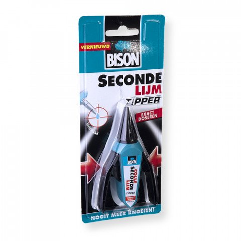 Bison secondelijm tipper 2 ml - 6302064