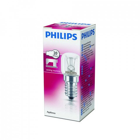 Philips naaimachinelamp E14 20W - T22CL20WE14SM