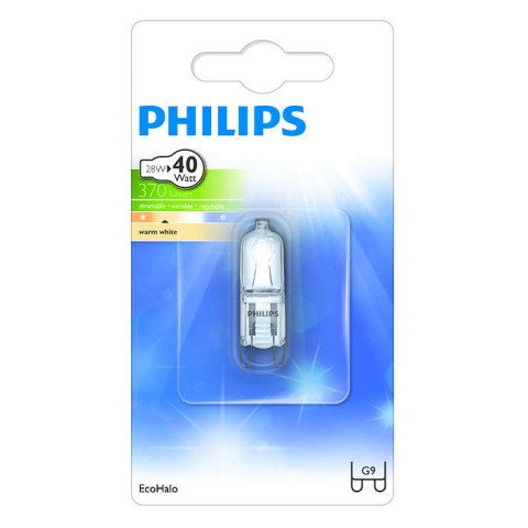 Philips halogeenlamp G9 28W 370Lm capsule - 8727900884142