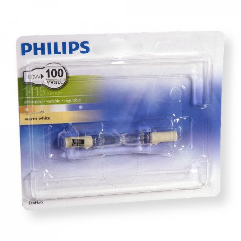 Philips halogeenlamp R7s 78mm 80W 1415Lm staaf - 8727900920949