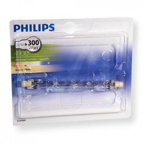 Philips halogeenlamp R7s 118mm 240W 4900Lm staaf - EcoHalo - 8727900922233