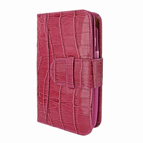 Piel Frama iPhone 6/6S Plus Wallet Croco Pink