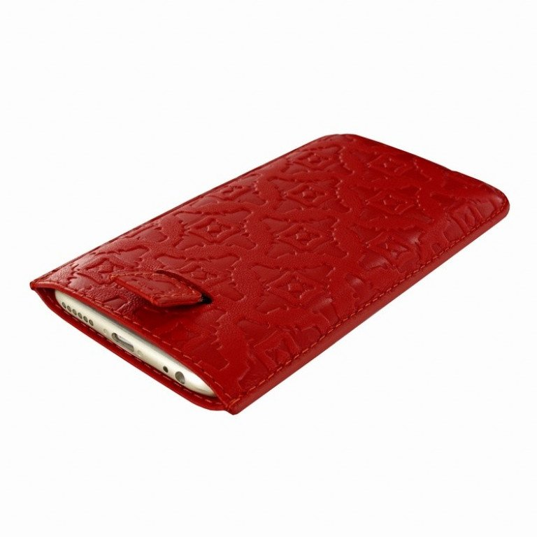 Piel Frama iPhone 7/6(S) Pull Style Red