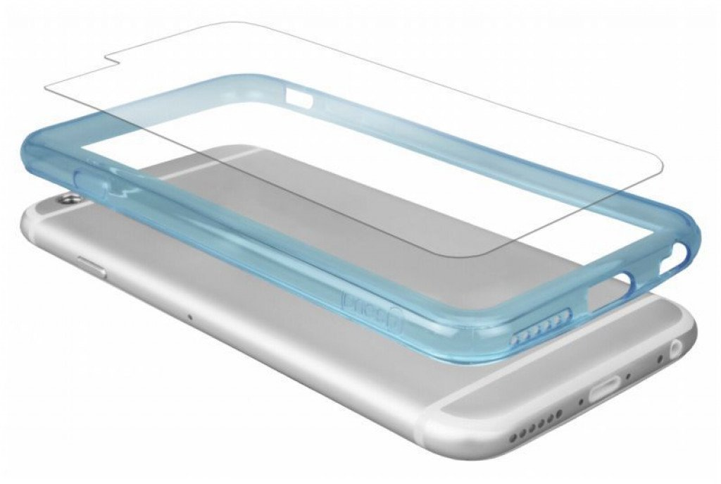 CASEual iPhone 6/6S Outline Blue