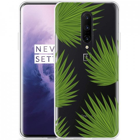 OnePlus 7 Pro Hoesje Palm Leaves Large