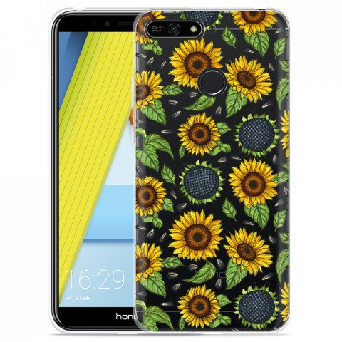 Honor 7A Hoesje Sunflowers