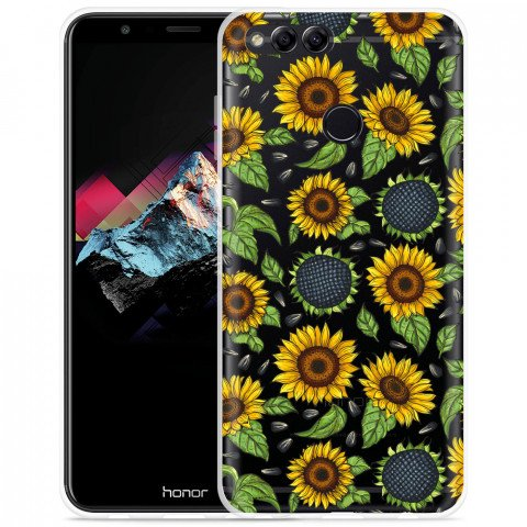 Honor 7X Hoesje Sunflowers