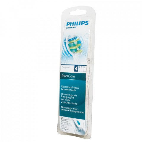 Philips SoniCare i InterCare witte opzetborstels HX9004 - HX9004/10