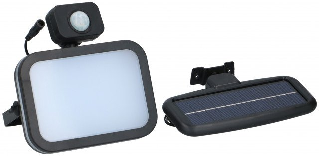 Solar lamp - Grundig - met sensor - LED lamp
