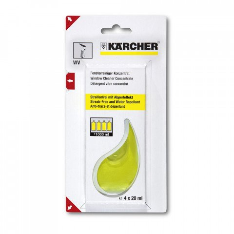 Karcher glasreiniger voor Window Vac 4x20 ml - 6.295-302.0